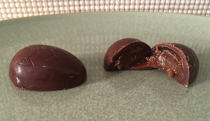 Trader Joe's Organic Milk Chocolate Caramel Eggs