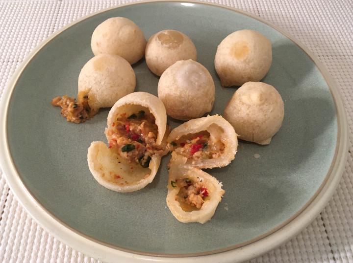 Trader Joe's Kung Pao Chicken Mochi Balls