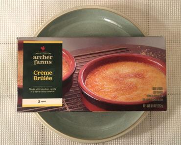 Archer Farms Crème Brûlée Review