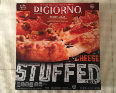 DiGiorno Three Meat Pizza with Cheese Stuffed Crust
