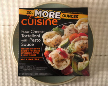 Lean Cuisine Four Cheese Tortelloni with Pesto Sauce (20% More Ounces)