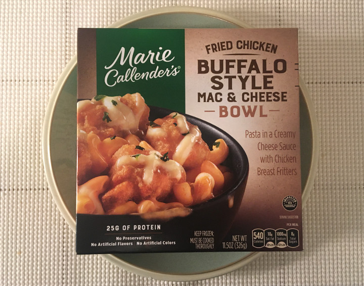 Marie Callender's Fried Chicken Buffalo Style Mac & Cheese Bowl
