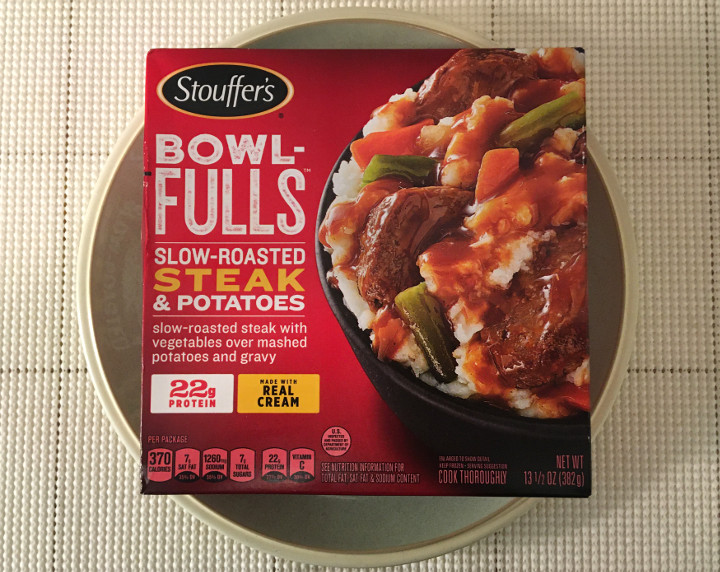 Stouffer's Bowl-Fulls: Slow-Roasted Steak & Potatoes