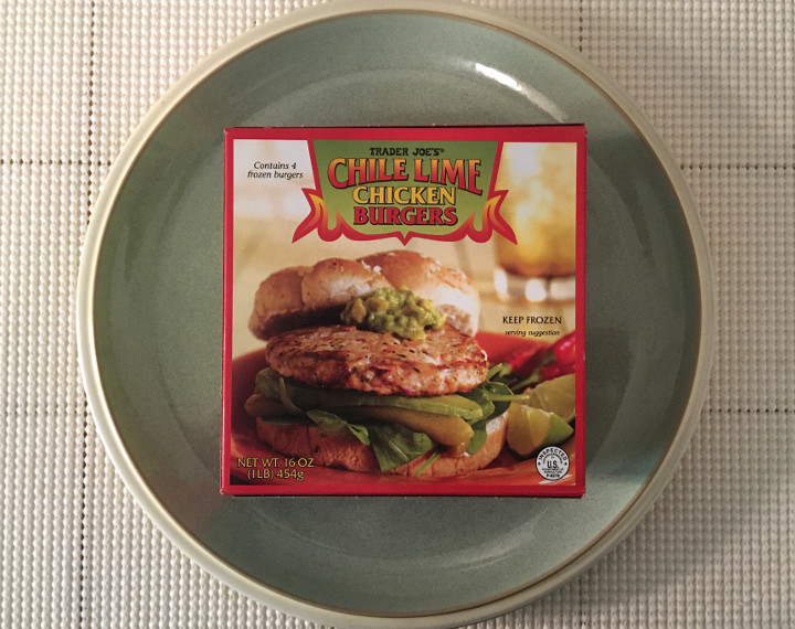 Trader Joe's Chile Lime Chicken Burgers