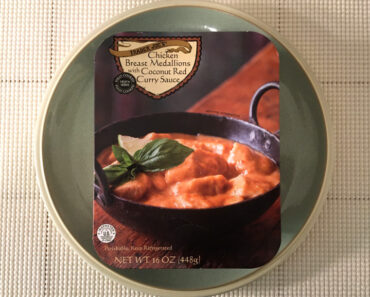 Trader Joe's Chicken Breast Medallions with Coconut Red Curry Sauce