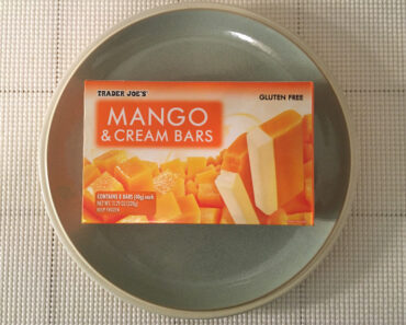 Trader Joe's Mango & Cream Bars
