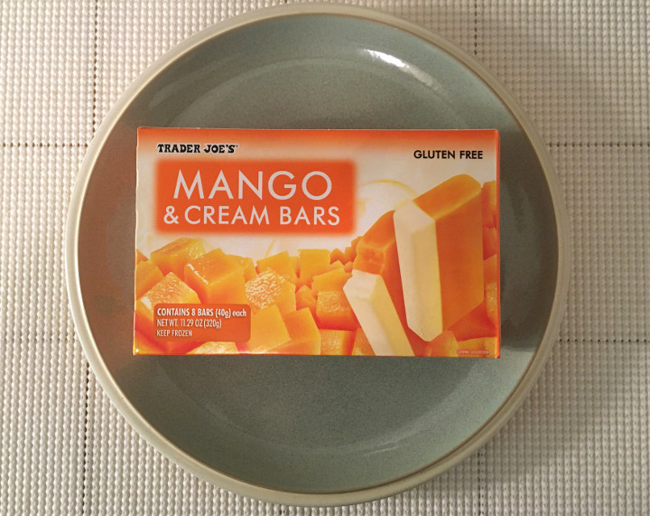 Trader Joe's Mango & Cream Bars