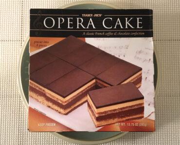 Trader Joe's Opera Cake