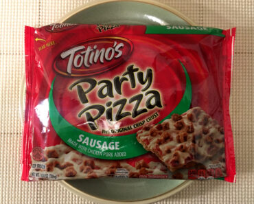 Totino's Sausage Party Pizza Review