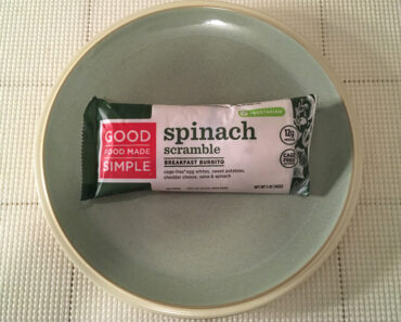 Good Food Made Simple Spinach Scramble Breakfast Burrito