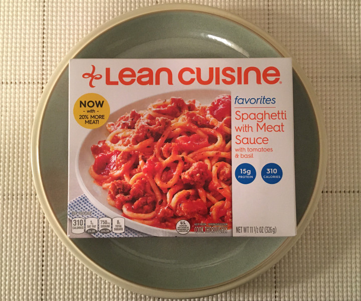 Lean Cuisine Favorites Spaghetti with Meat Sauce