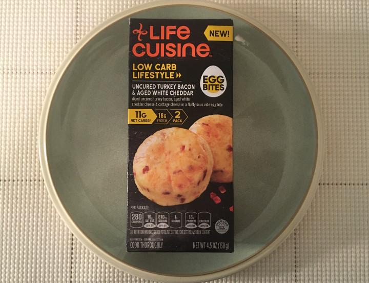 Life Cuisine Uncured Turkey Bacon & Aged White Cheddar Egg Bites