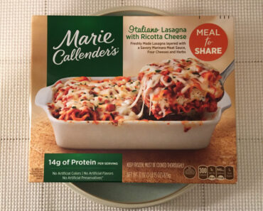 Marie Callender's Italiano Lasagna with Ricotta Cheese (Meal to Share)
