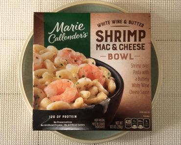 Marie Callender's White Wine & Butter Shrimp Mac & Cheese Bowl