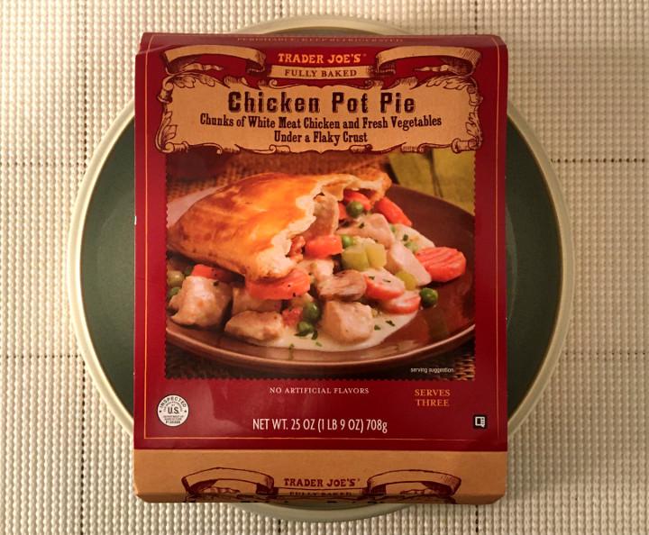 Trader Joe's Fully Baked Chicken Pot Pie