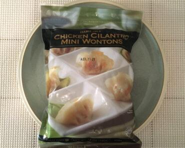 Trader Joe's Chicken Cilantro Mini Wontons Review