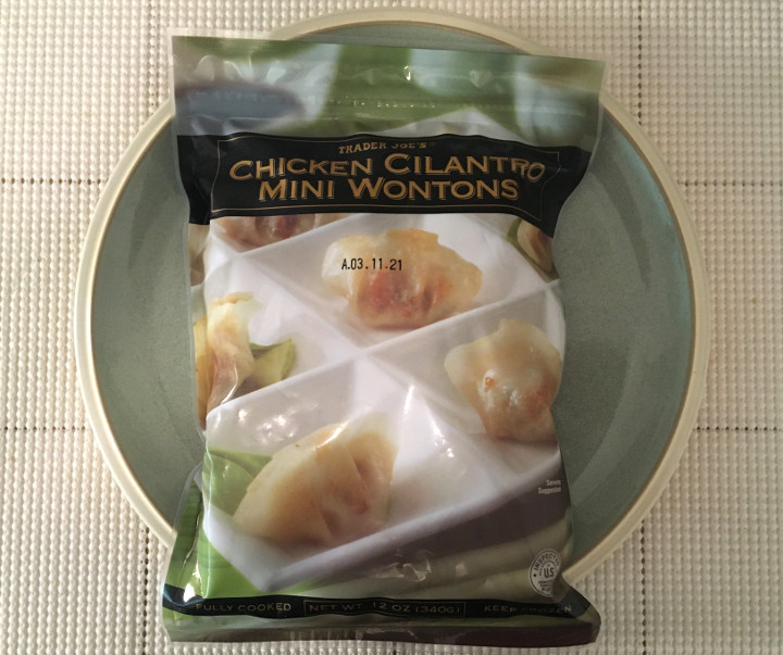 Trader Joe's Chicken Cilantro Mini Wontons