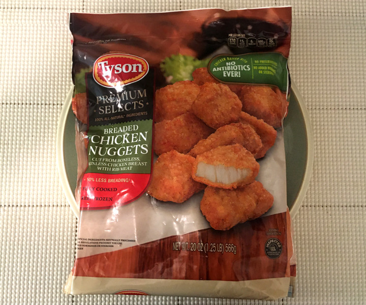 Tyson Premium Selects Breaded Chicken Nuggets