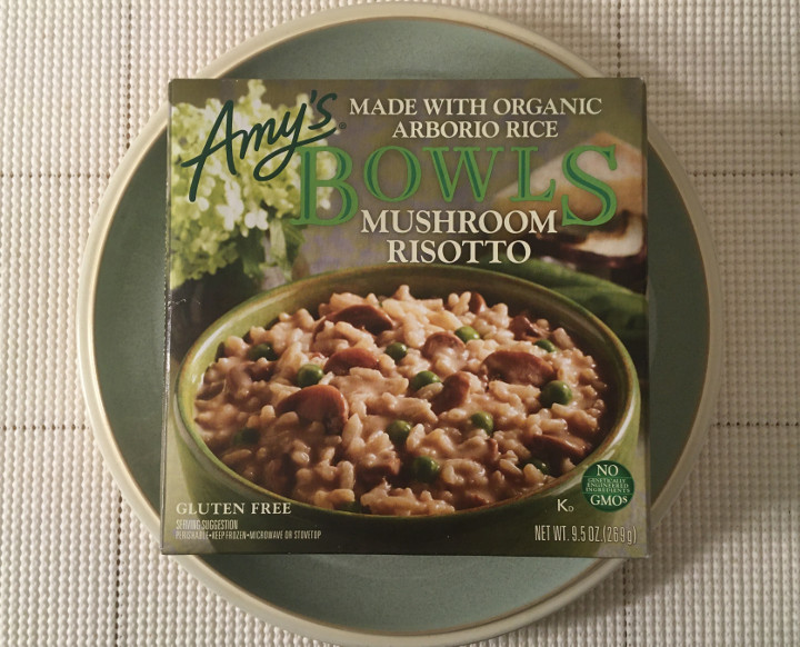 Amy's Mushroom Risotto with Arborio Rice