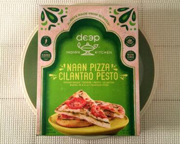 Deep Indian Kitchen Cilantro Pesto Naan Pizza
