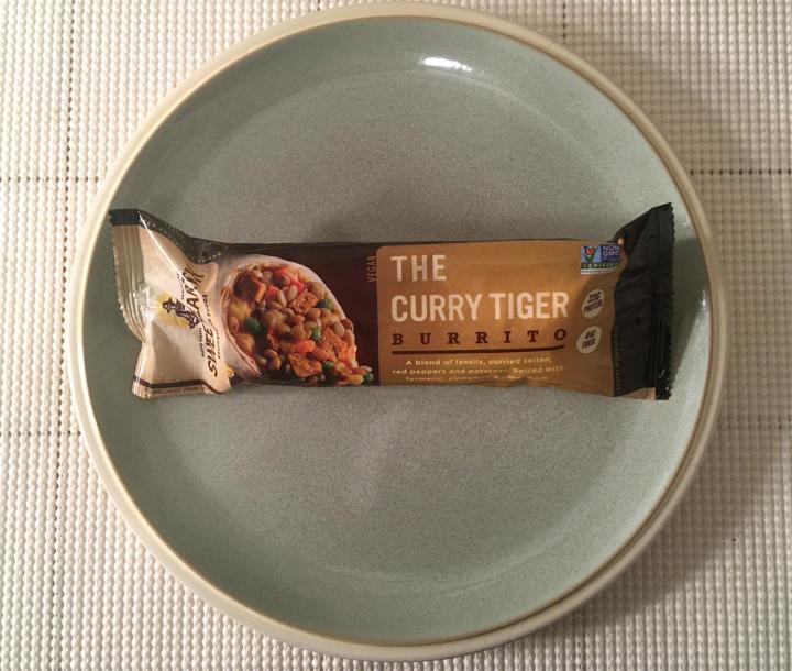 Sweet Earth Curry Tiger Burrito