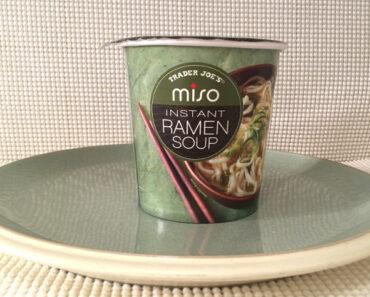 Trader Joe's Miso Instant Ramen Soup Review