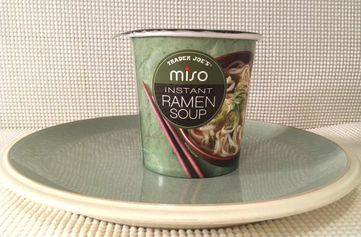 Trader Joe's Miso Instant Ramen Soup