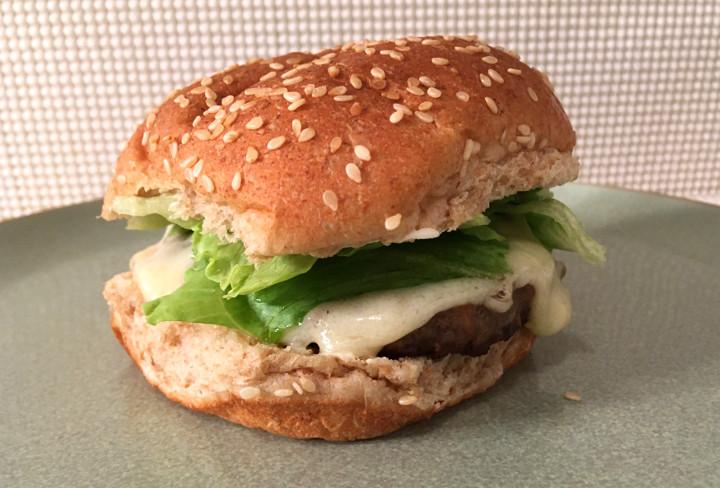 Trader Joe's Uncooked Grass Fed Angus Beef Burgers