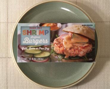 Trader Joe's Shrimp Seafood Burgers