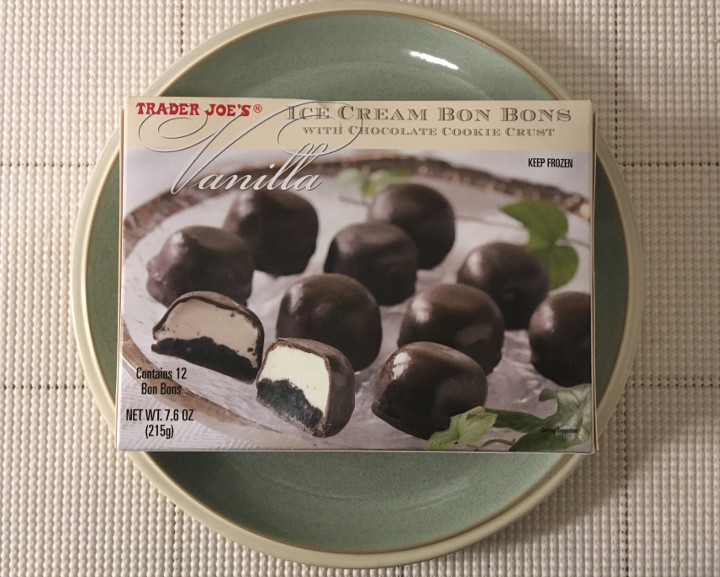 Trader Joe's Vanilla Ice Cream Bon Bons with Chocolate Cookie Crust