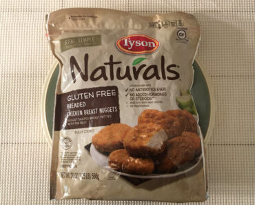 Tyson Naturals Gluten Free Breaded Chicken Breast Nuggets