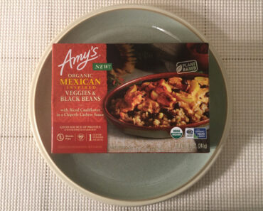 Amy's Organic Mexican Inspired Veggies & Black Beans