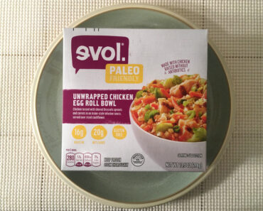 Evol Paleo Friendly Unwrapped Chicken Egg Roll Bowl