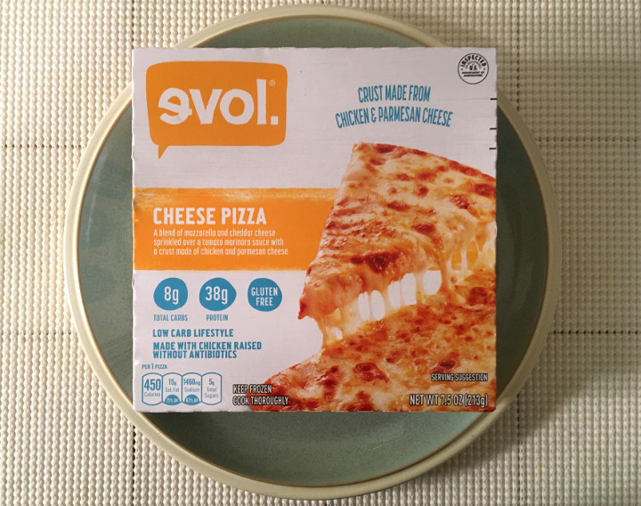 Evol Low Carb Lifestyle Cheese Pizza