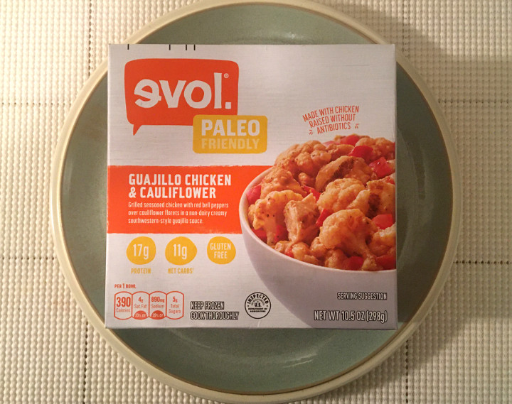 Evol Paleo Friendly Guajillo Chicken & Cauliflower