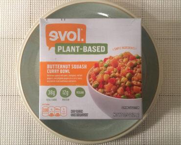 Evol Plant-Based Butternut Squash Curry Bowl