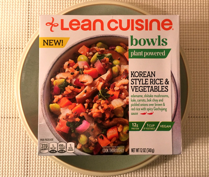 Lean Cuisine Korean Style Rice & Vegetables Plant Powered Bowl