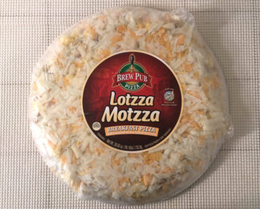 Lotzza Motzza Breakfast Pizza