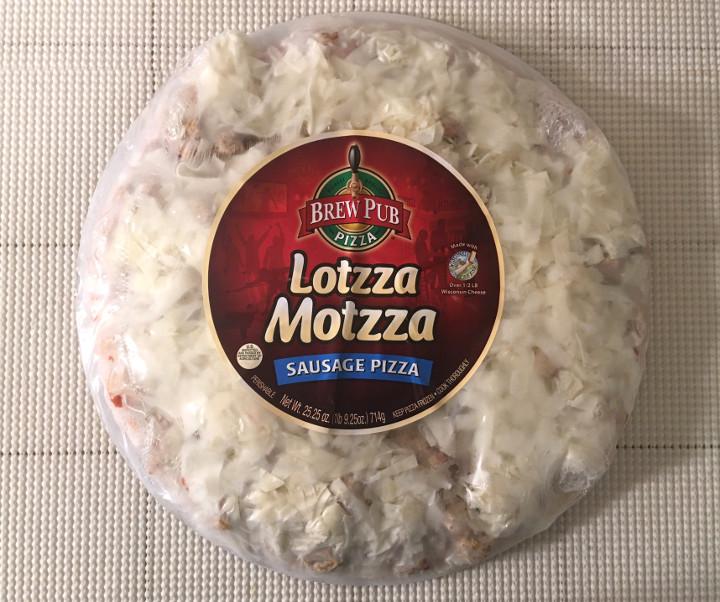 Lotzza Motzza Sausage Pizza