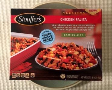 Stouffer's Family Size Chicken Fajita
