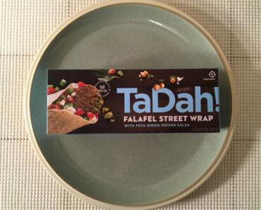 TaDah! Falafel Street Wrap with Feta Green Pepper Salsa