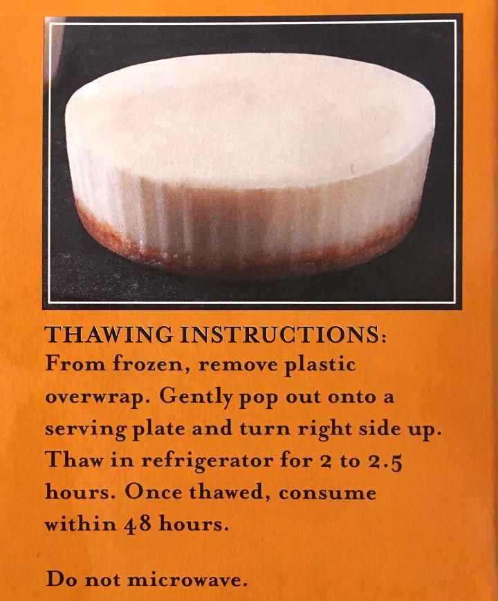 Trader Joe's Cheese-Less Cheesecakes