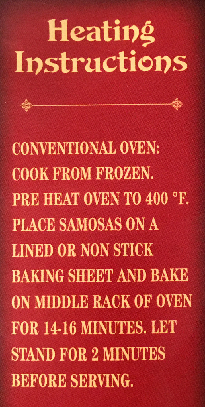 Trader Joe's Chicken Tikka Samosas