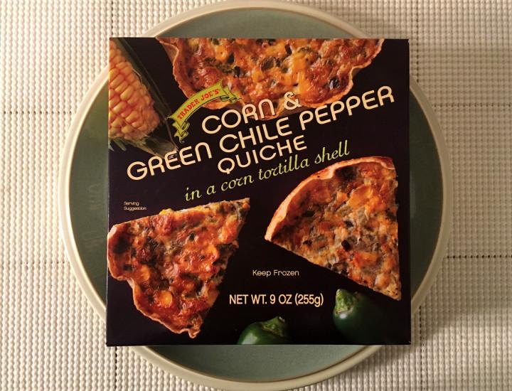 Trader Joe's Corn & Green Chile Pepper Quiche