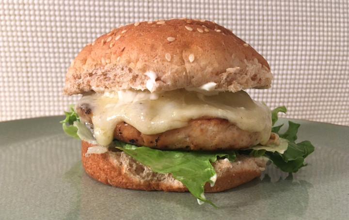 Trader Joe's Premium Salmon Burgers