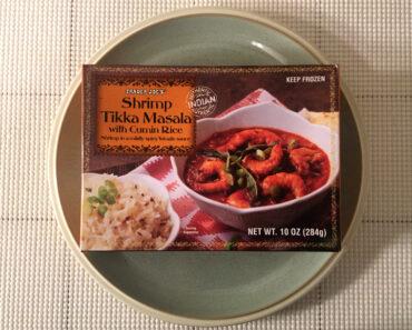 Trader Joe's Shrimp Tikka Masala with Cumin Rice
