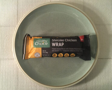Healthy Choice Shiitake Chicken Wrap Review