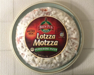 Lotzza Motzza Micro Brew Pepperoni Pizza