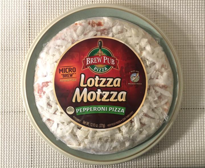 Lotzza Motzza Micro Brew Pepperoni Pizza