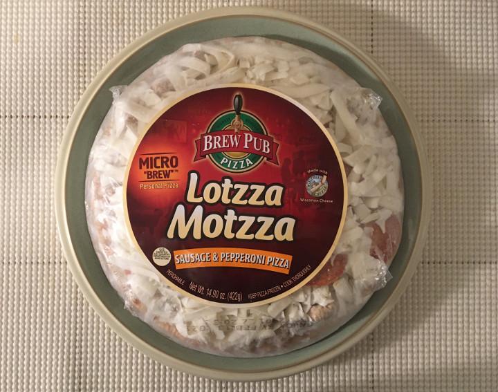 Lotzza Motzza Sausage & Pepperoni Micro Brew Pizza